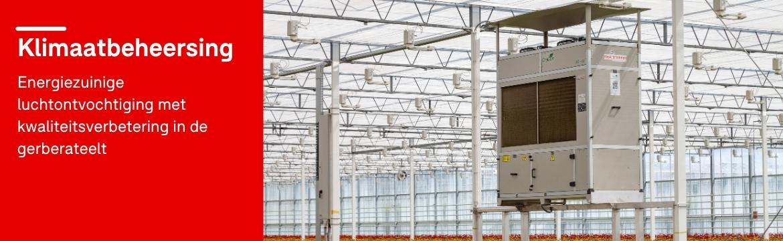 Klimaatbeheersing met DryGair luchtonvochtigers