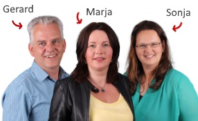 Gerard, Marja en Sonja