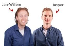 Jan-Willem en Jasper