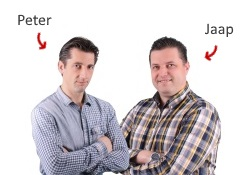 Peter en Jaap