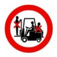 Meerijden op transportmiddelen verboden