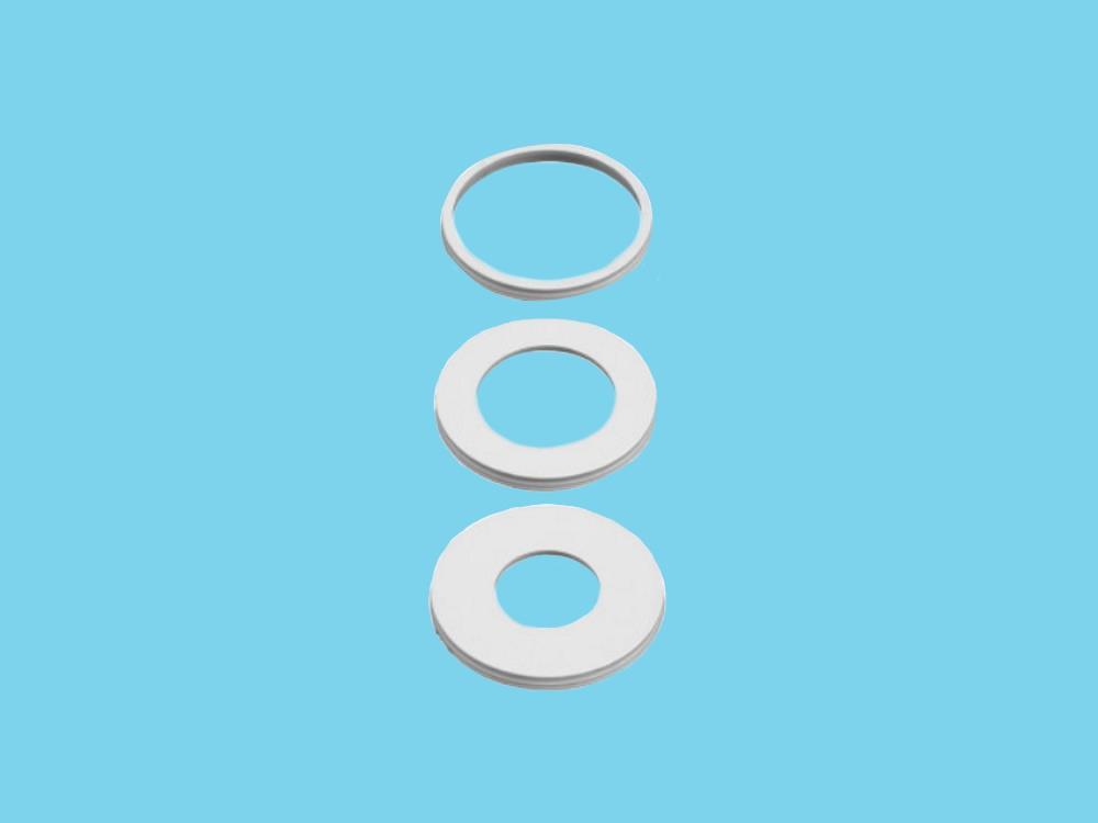 Smoorplaatje Øgat 16,5mm Ø27mm buiten