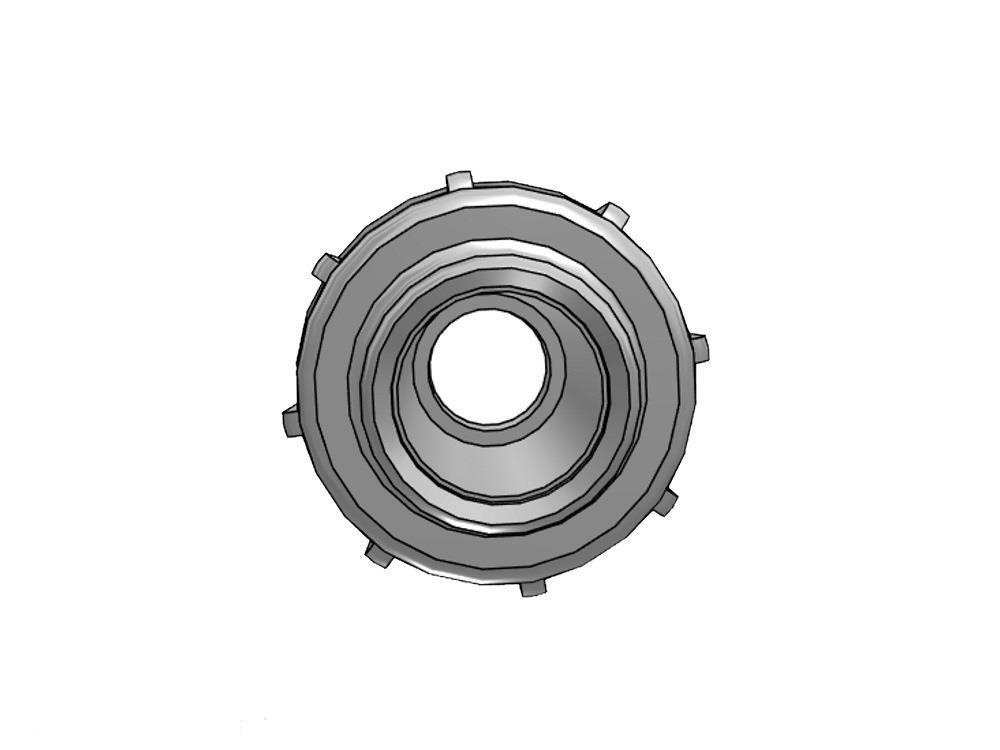 Koppeling 32mm PE x 40/32mm PVC