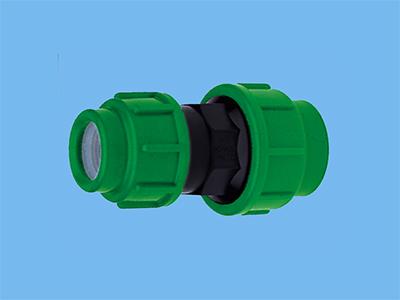 PE verloopkoppeling 32 x 25 mm 16bar