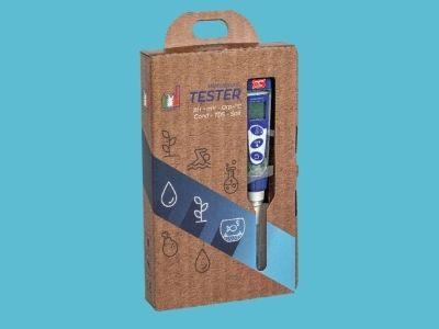 Waterdichte EC / pH meter in pocketformaat (PC5)