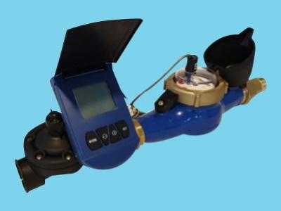 Autom. volume afsluiterset - 30 m3/u - 1 puls/10L - 2
