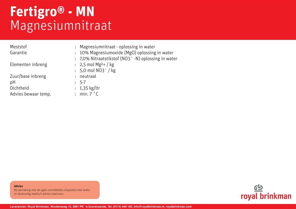 Fertigro MN box 963 ltr/1300 kg