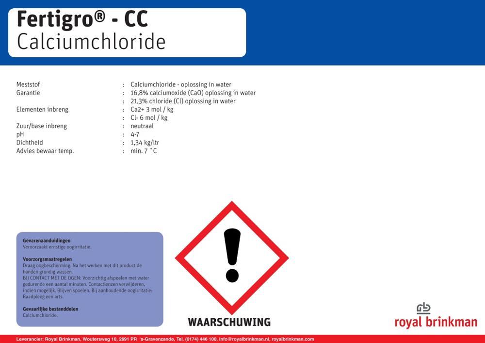 Fertigro CC vat (536) 200 ltr/268 kg