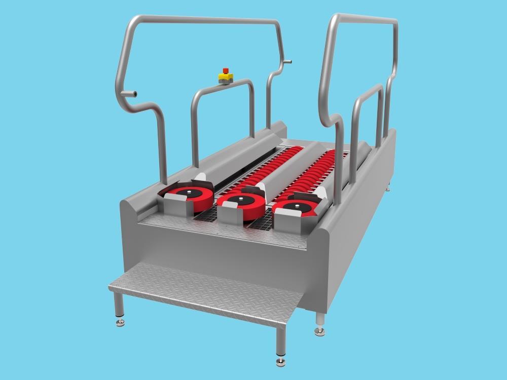 Zolenreiniger DR1400 V70 400V 0.5 Kw