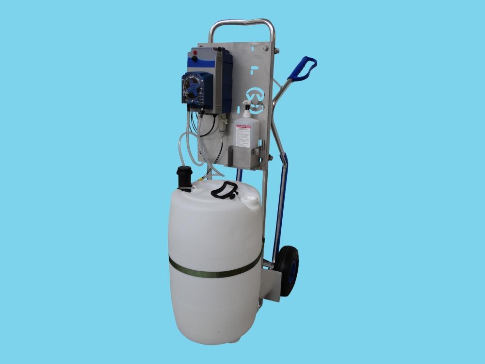Flexxotrolley - Mobiele Desinfectie Unit (Flexxopomp)