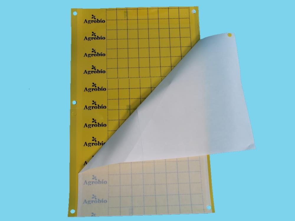 Signaalplaat geel [40x25cm] Deltaval (50 stuks deelbaar)