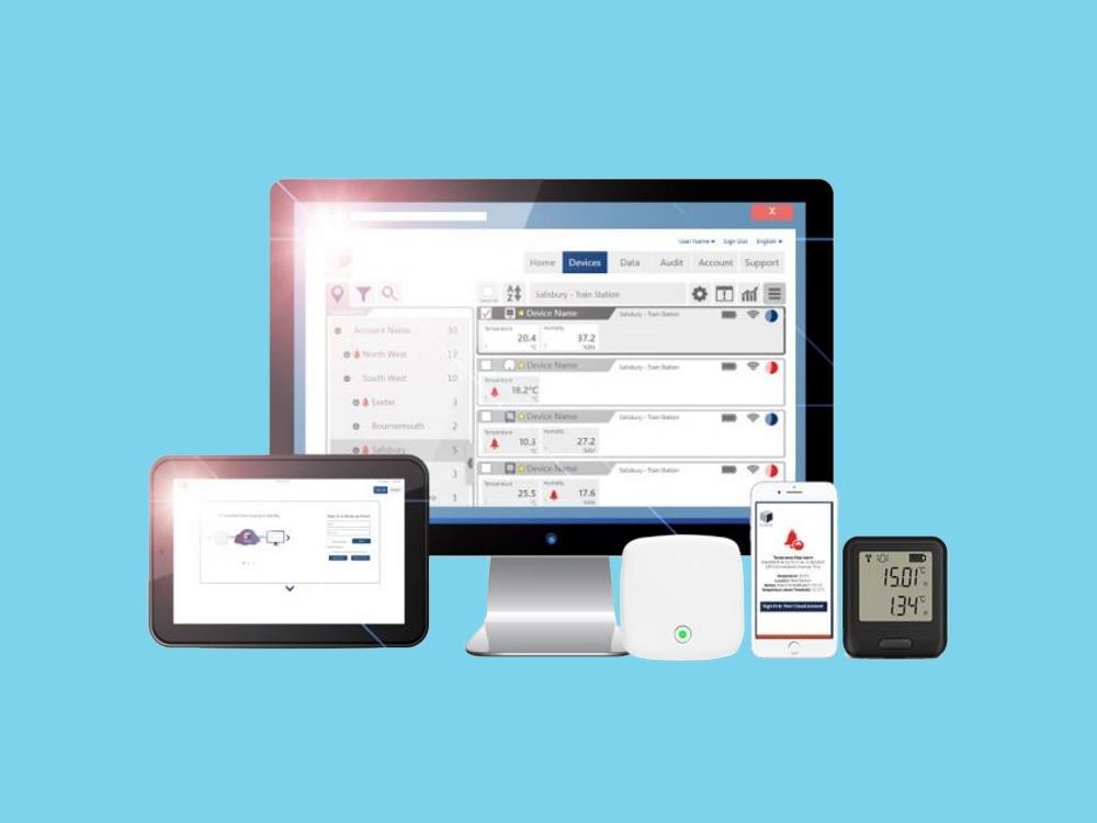 Datalogger temperatuur draadloos (Wifi) El-MOTE-T