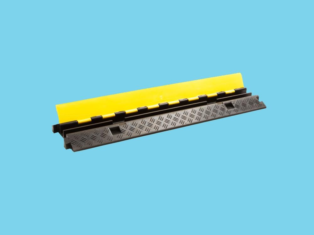 Kabelbrug 2 kanaals 980x255x45mm zwart/geel