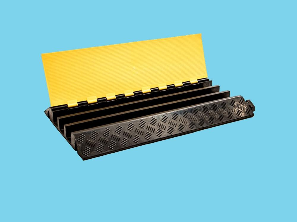 Kabelbrug 3 kanaals 905x505mmx76mm zwart/geel