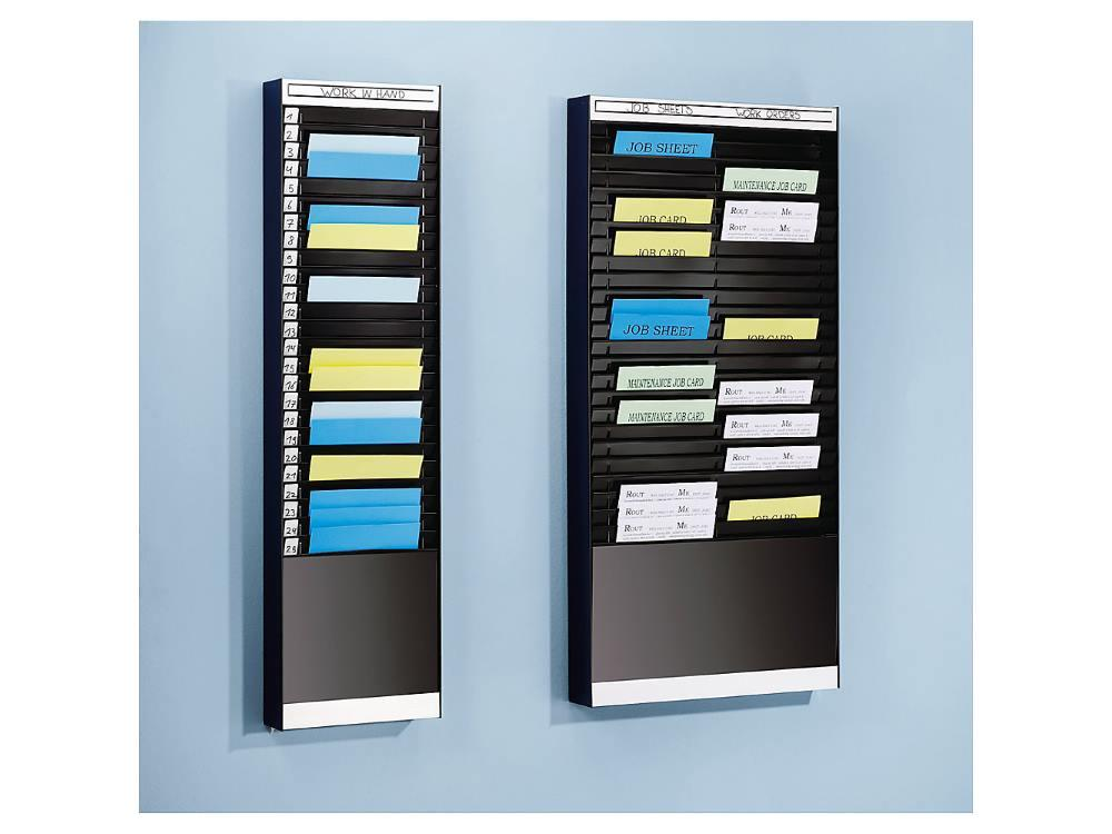 Sorteerbord documenten 1x10 vakken A4 verticaal