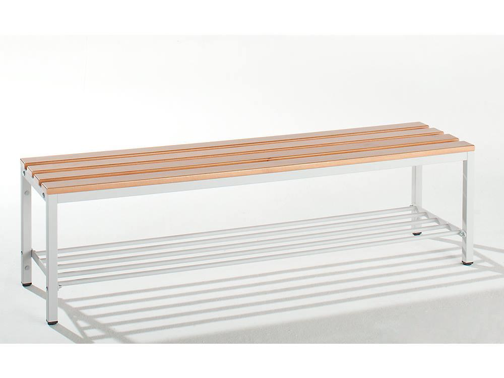 Garderobebank 420 x 400 x 2000 mm (hxdxl)
