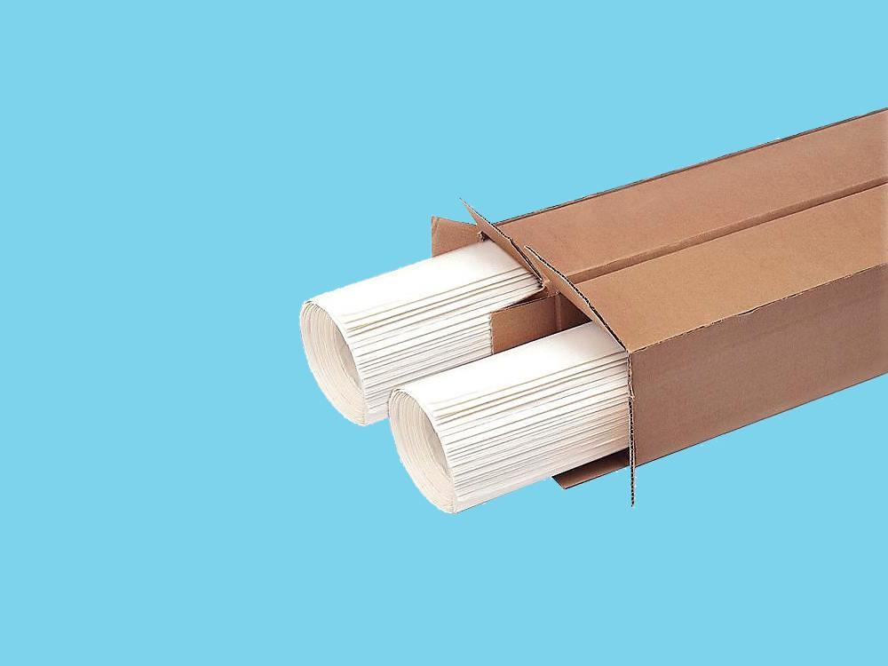 Papier prikbord wit 50 stuks
