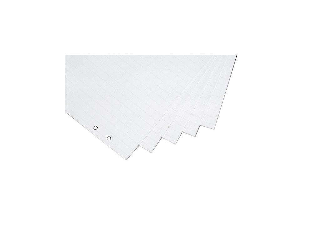 Papierblok flip-over geruit 650x1000 5 stuks