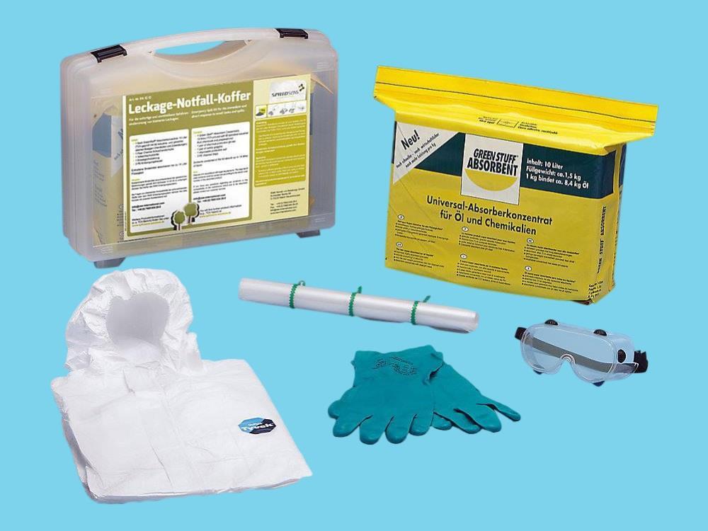 Koffer voor milieu noodgevallen gevaarlijke stoffen