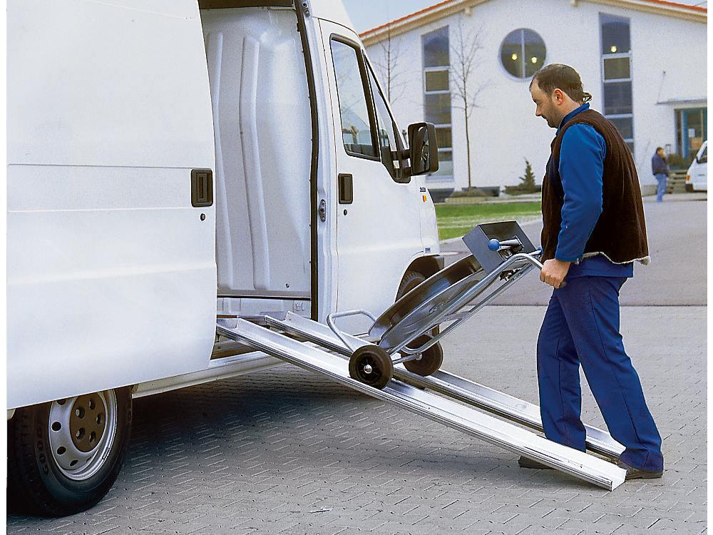 Aluminium laadrail draagvermogen: 400 kg