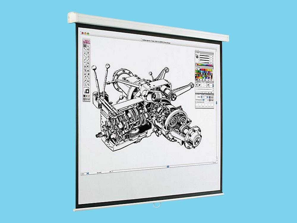 Projectiescherm vast 1970 x 1470 mm