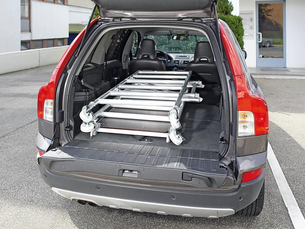 Vouwsteiger aluminium 1,55 x 0,6m 4 modules