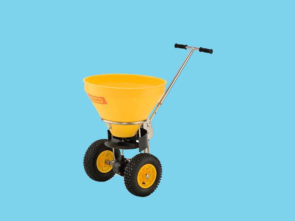 Strooigoedwagen 50 liter 1-4m strooibereik