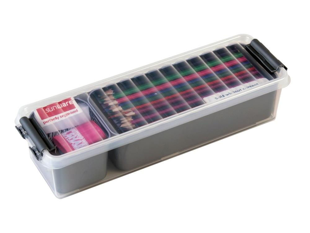 Mixed Box, transp/metal 0,9L (4 stuks)