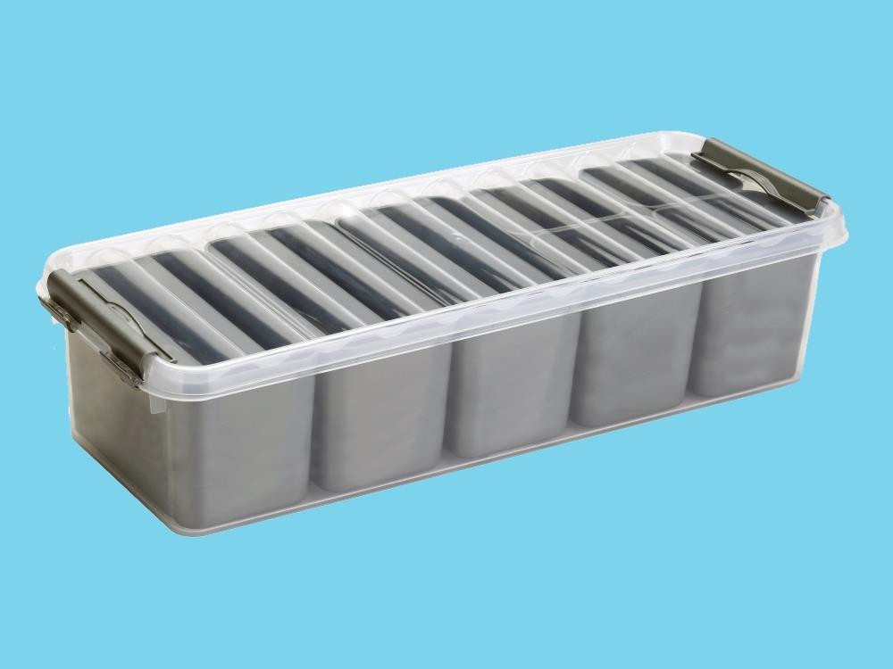 Mixed Box, transp/metal 3,5L (4 stuks)