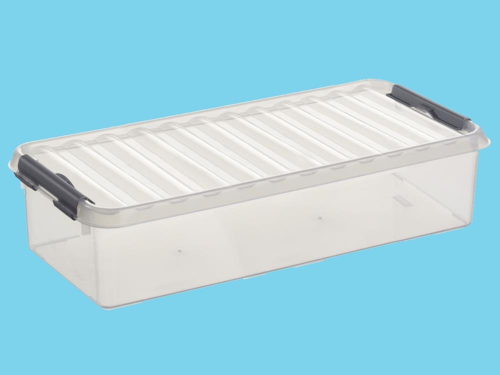 Opbergbox, transp/metal 6,5L (6 stuks)