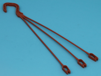 Container hanger 44cm unifast  terracotta 250 ds