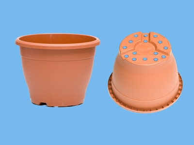 Sabina container 12cm  smal terracotta 2920  ds