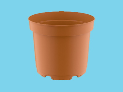 Teku pot MCI 15 Circular terracotta 400 ds