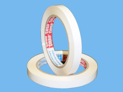 Tesa tape      wit  9mm    66m