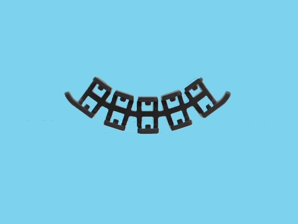 Flextruss zwart 19000