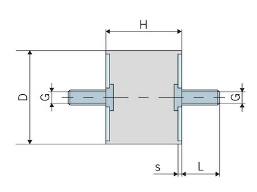 Robocar 1601 trillingsdemper 20 mm (type 18)
