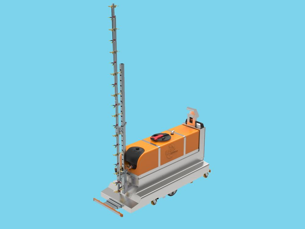 Meto SWT automatische spuitwagen met 300 ltr tank