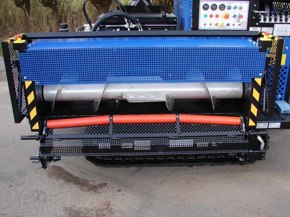 Geleidingsdraagrol doek Bio Chopper (gelagerde buis)
