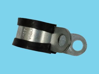 Leidingklem rubber 18mm 15mm