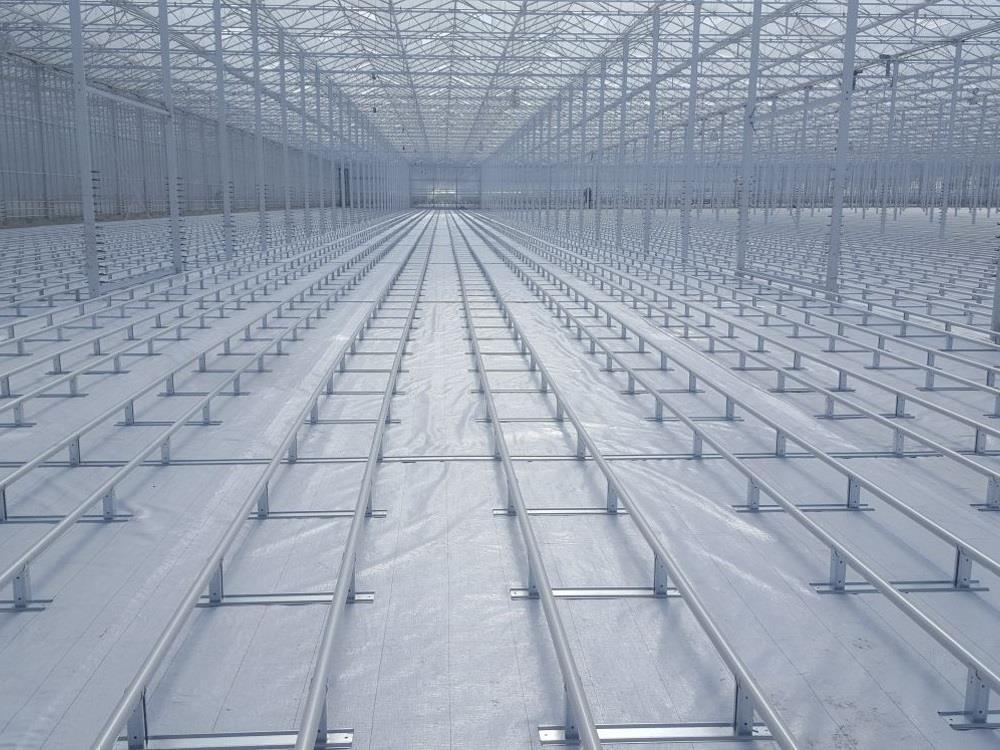 Renovatie verfwerk: kasverwarmingsinstallatie