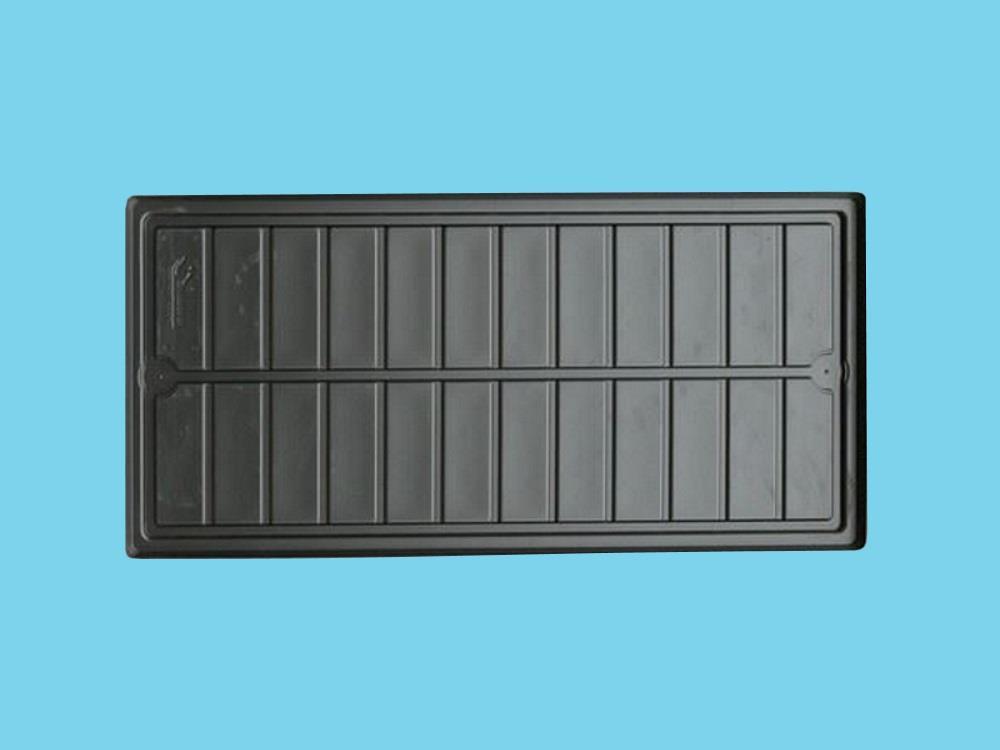 Watertray zwart 2mm zware kwaliteit tbv AGRO LED