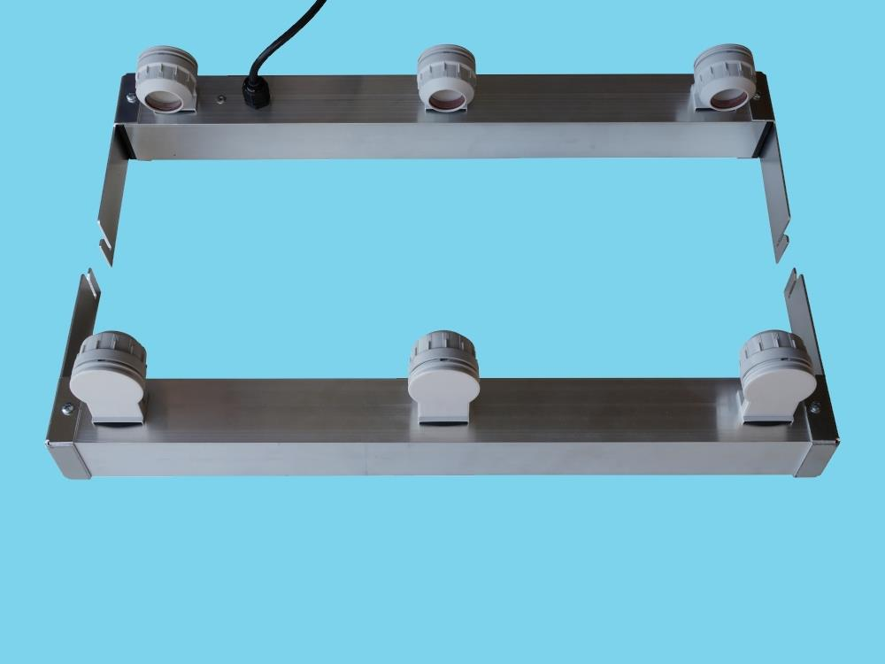 Adapter voor 3 buizen tbv AGRO LED