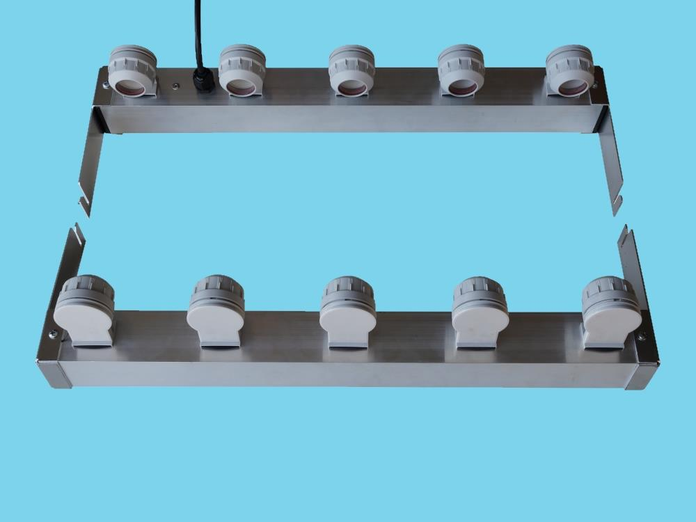Adapter voor 5 buizen tbv AGRO LED