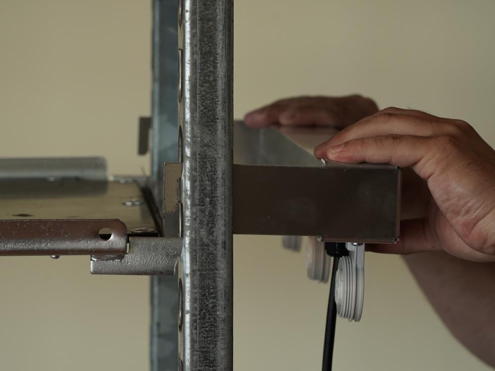 Plug & Play lamp op een Deense kar 2 lampen AGRO LED