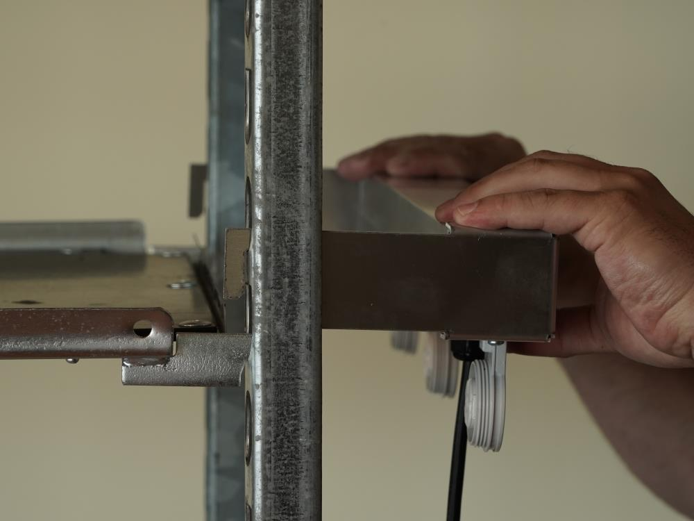 Plug & Play lamp op een Deense kar 3 lampen AGRO LED
