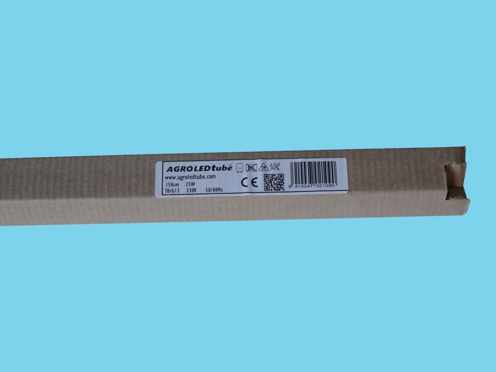 LED licht buis full spectrum AGRO LED T8 25W G13 50µmol