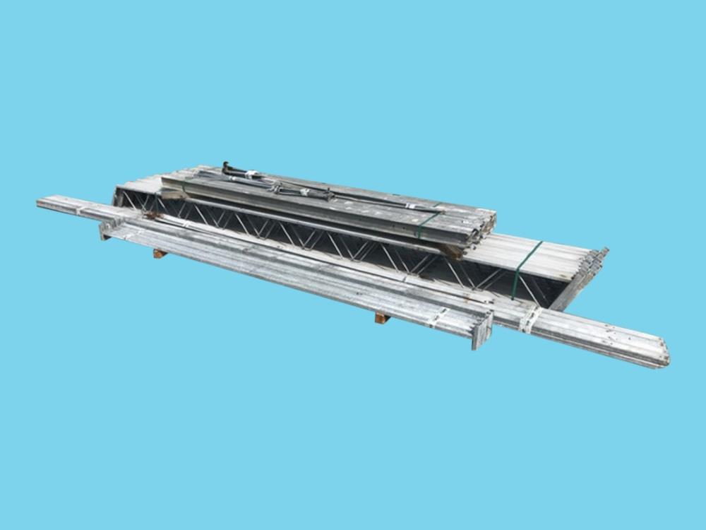 Constructie bedrijfshal staal 8,0m x 16m