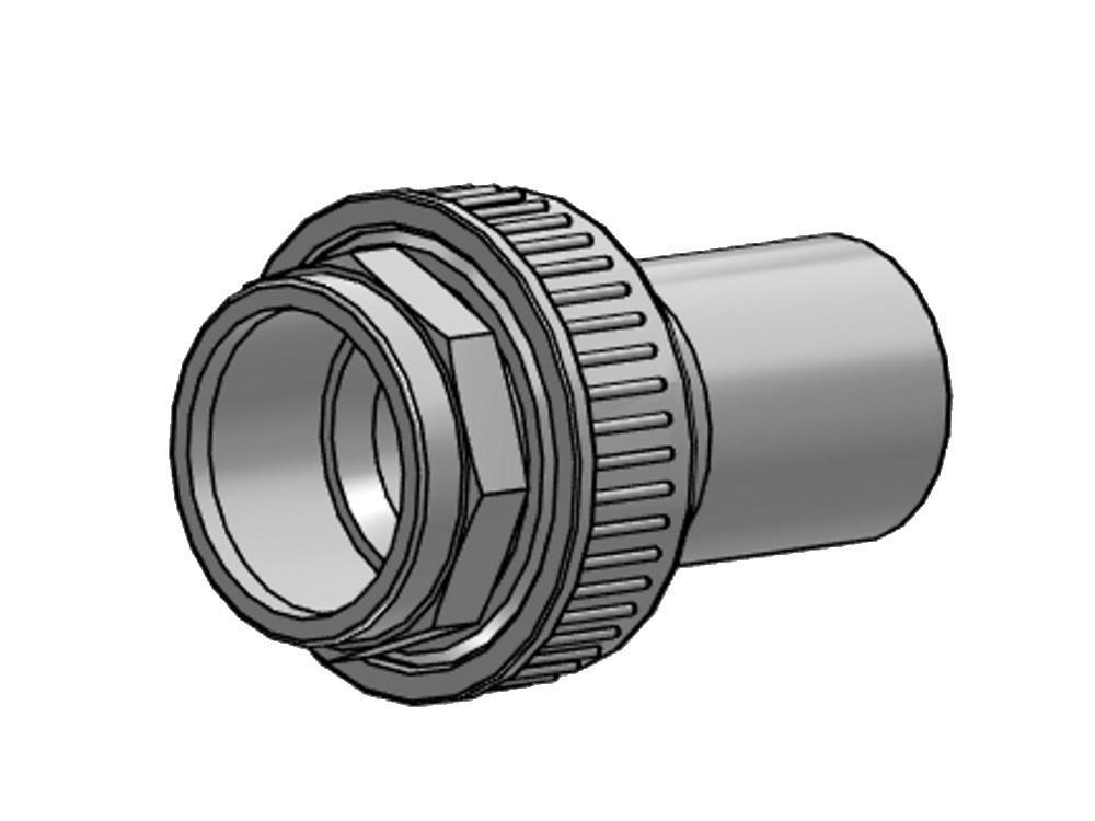 Overgangskoppeling pvc-pe 75mm - sdr 17