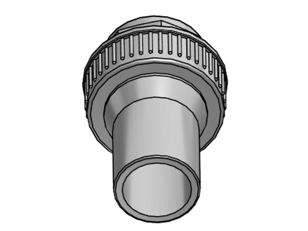 Overgangskoppeling pvc-pe 90mm - sdr 11
