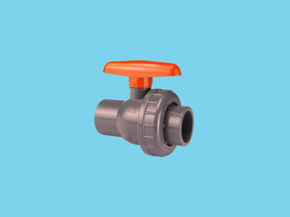Kogelkraan type: eil 32x32mm dn25 pvc